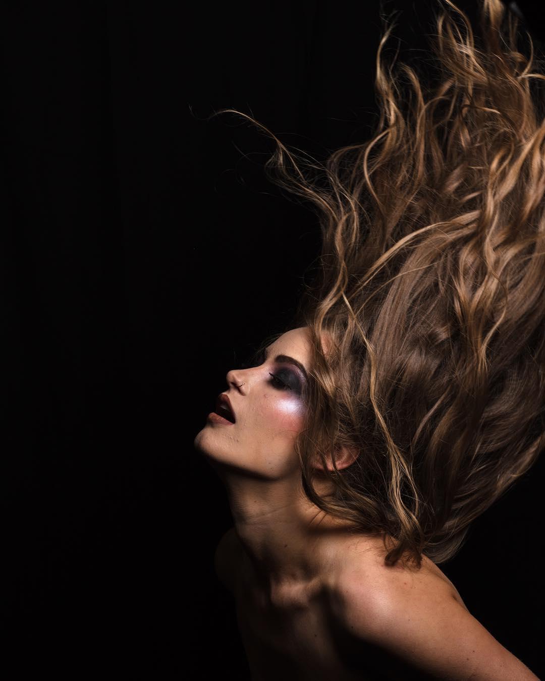 Divine Hairdresser Cairns. Model Photoshoot